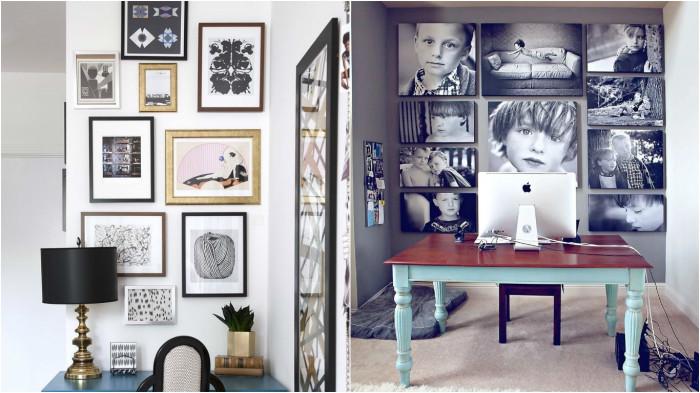 Вдохновляющие идеи для создания домашней галереи.