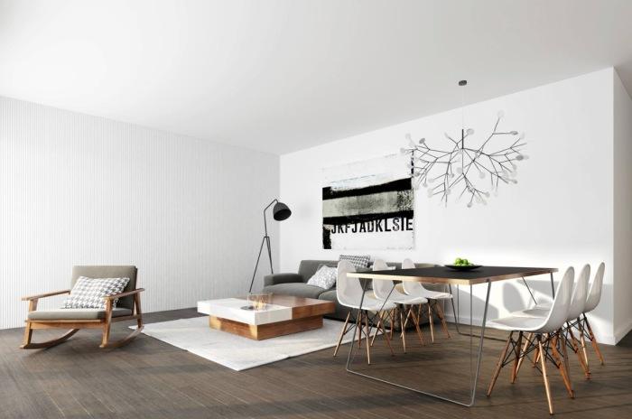 Сочетание простоты и комфорта.