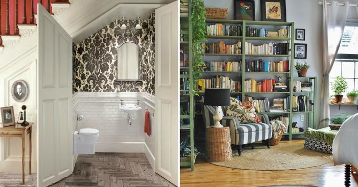 Оригинальные примеры дизайна маленьких комнат с большими возможностями.