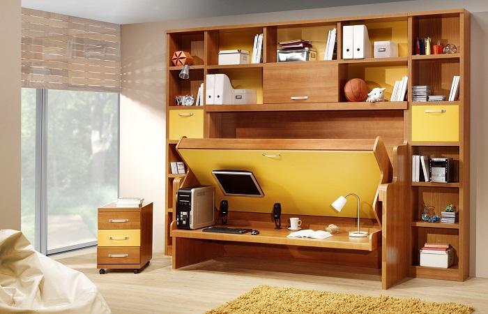 Крутые идеи, которые помогут сэкономить пространство в малогабаритной квартире.