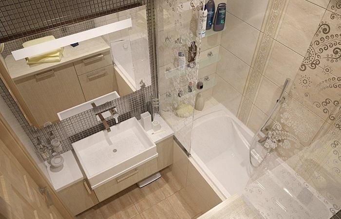 Несколько дельных идей, которые помогут организовать ванную комнату даже в крошечном пространстве