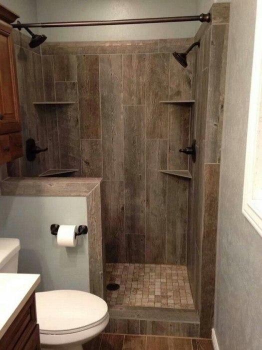 Оригинальное плиточное покрытие, которое напоминает дорогую древесину.