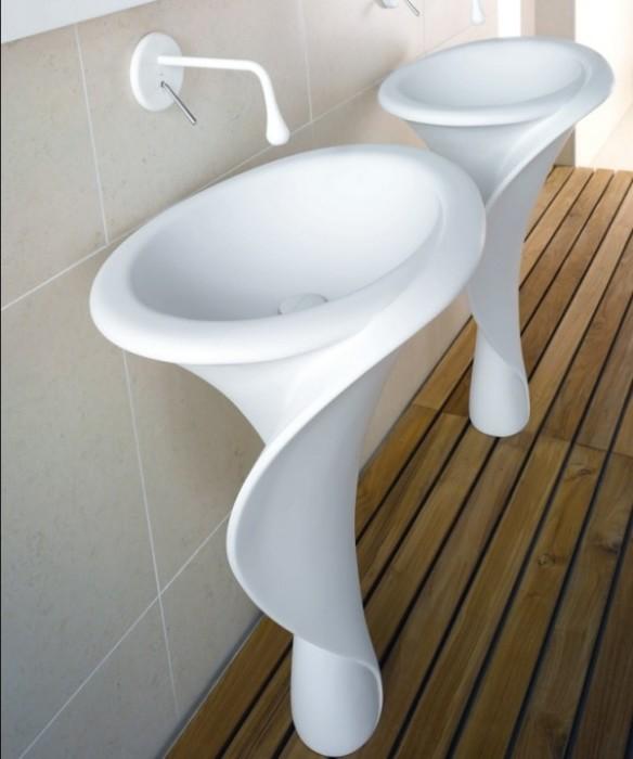 Роскошные керамические раковины, которые по-настоящему украсят ванную комнату.