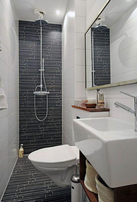 Очень необычный интерьер ванной комнаты, который всегда будет радовать хозяев и по-настоящему удивлять гостей.