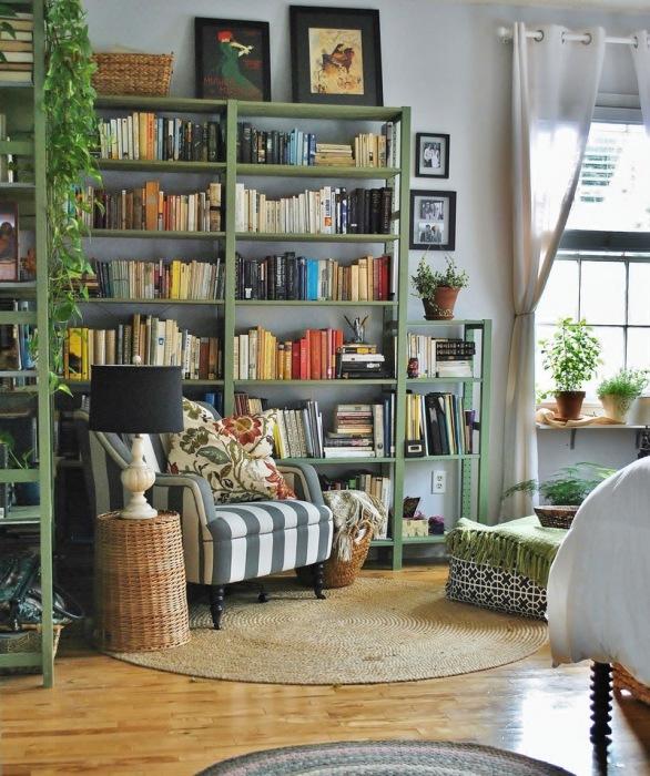 Основной функцией, которую выполняет домашняя библиотека, является максимально удобная организация книжной коллекции.