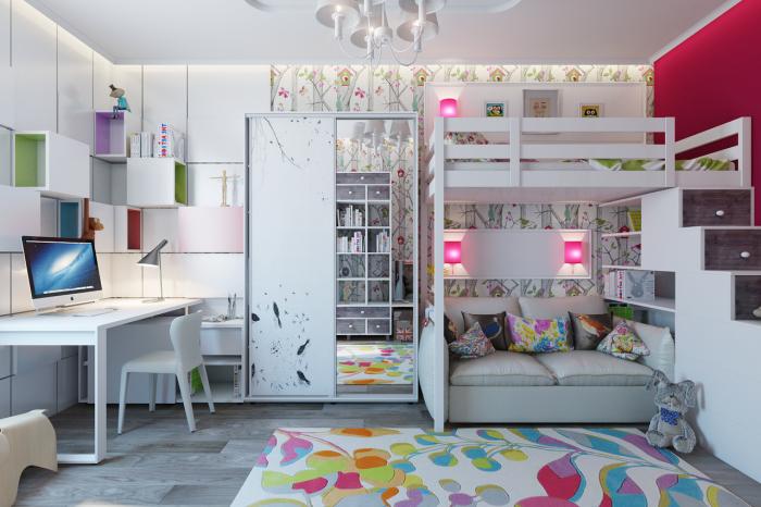 Вдохновляющие идеи правильного обустройства и освещения двухъярусных кроватей.