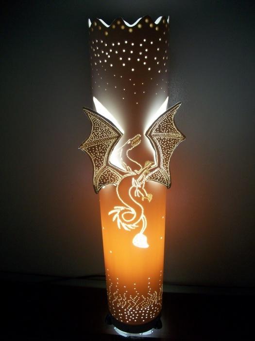 Как сделать красивый светильник своими руками из трубы