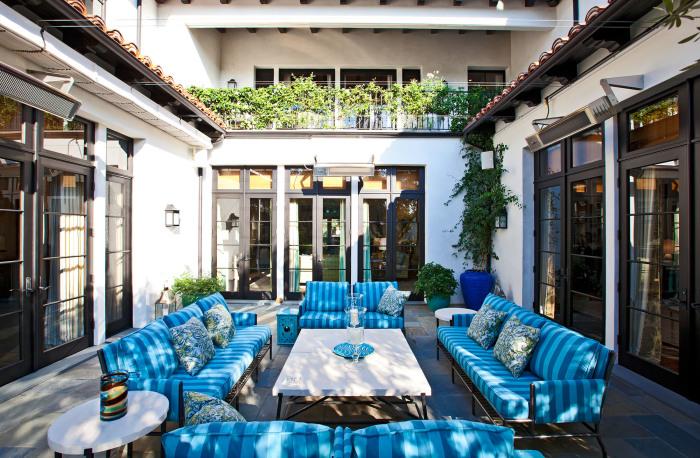 Вдохновляющие идеи по обустройству и декорированию летнего патио в саду.