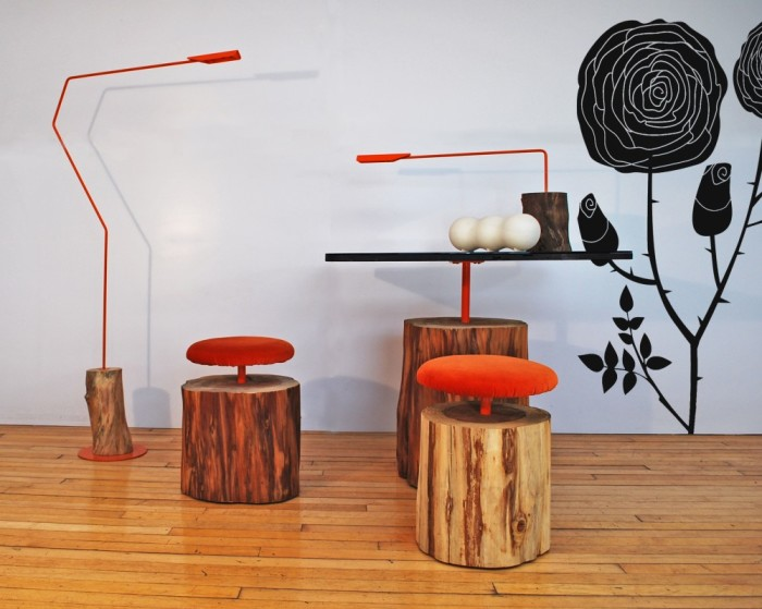 Мебель из натуральной древесины поражающая своей простотой и оригинальностью.