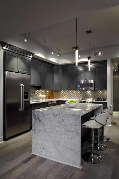 Модульная мебель - это идеальная возможность максимально функционально и эффективно обустроить интерьер кухни.