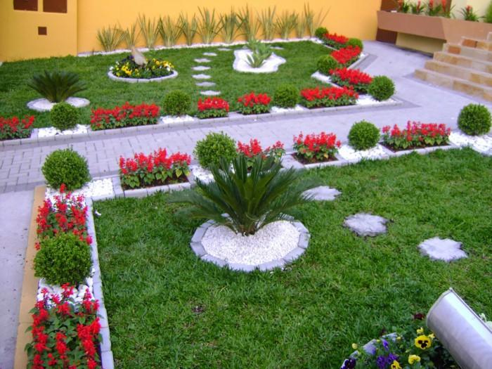 Идеальный сад, где нет ничего лишнего.