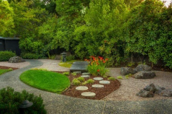 Ландшафтный дизайн - это неотъемлемая часть восточной философии и культуры.