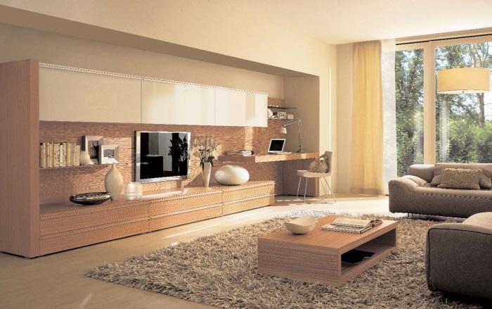 Главные различия между модульными системами проявляются не в самой конструкции, а в наличии элементов и в общем виде мебели.