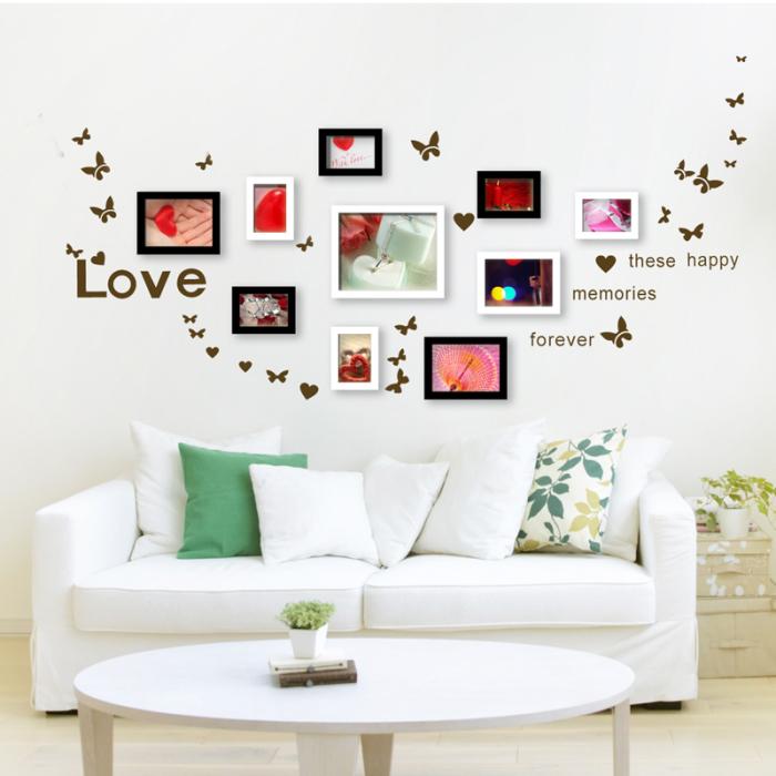 Отличное решение для декора стены, которая совершенно игнорировалась во время оформления комнаты.