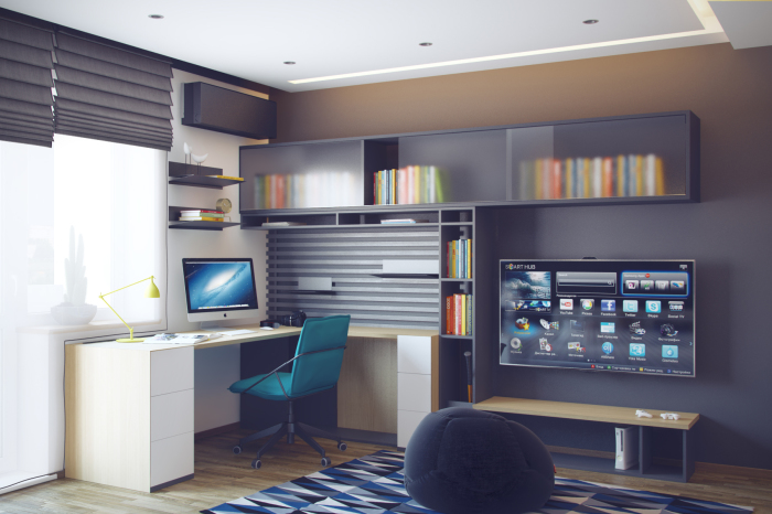 Необычные примеры оформления комнаты для подростка.