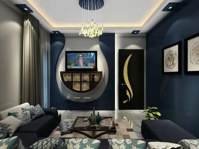 Сказочная гостиная комната для настоящих ценителей современного интерьера.