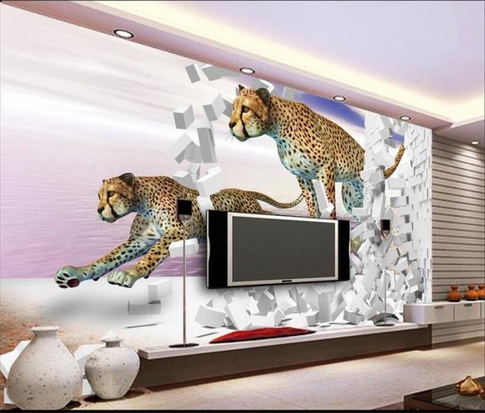 Удивительные идеи, как оживить зону для просмотра телевизора.