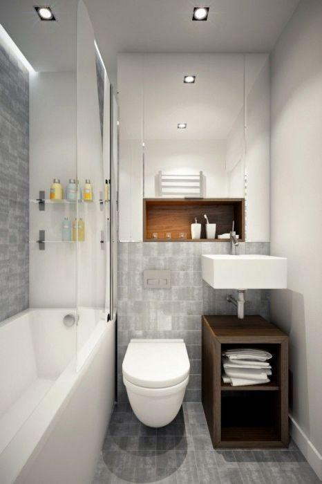Чем меньше помещение ванной комнаты, тем тщательнее необходимо планировать его оформление.