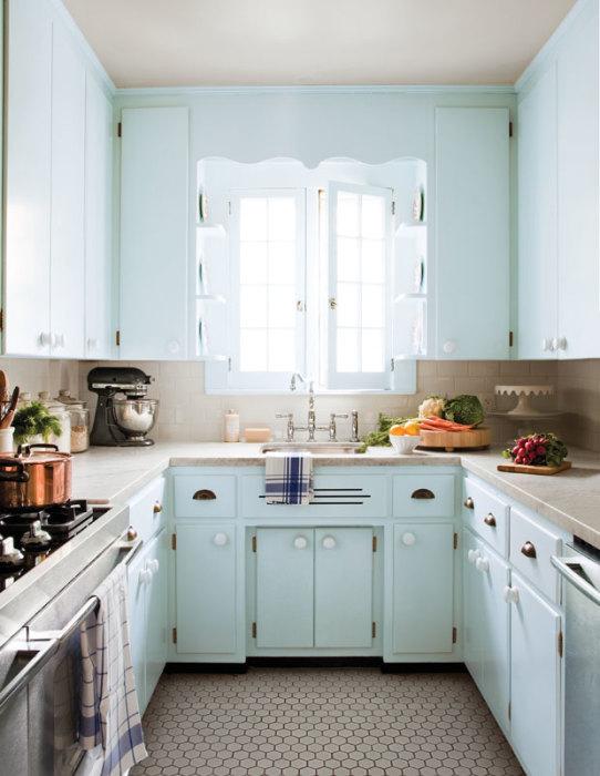 Для того чтобы пастельный интерьер современной кухни приблизился к идеальному, совсем необязательно проделывать масштабную работу по переделке.