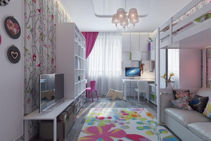 Вдохновляющие дизайнерские идеи, которые помогу оформить детскую комнату.