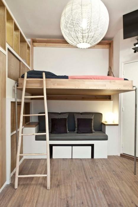 В малогабаритной квартире важна любая экономия пространства.