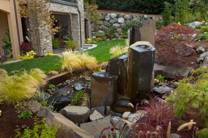 Японский сад - это отличное место для медитаций и других духовных практик.