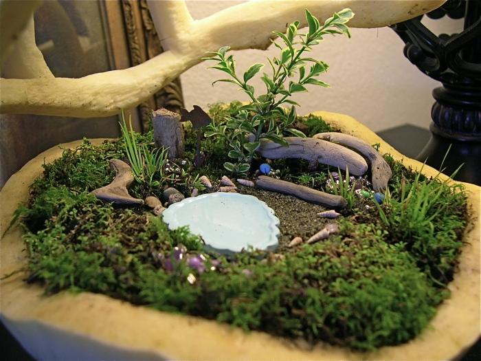 Кашпо послужит отличным вариантом оформления мини-сада в домашних условиях.