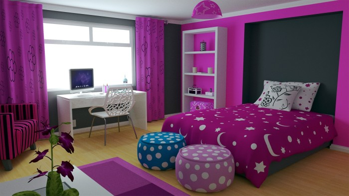Уютная и функциональная детская комната для девочки, которую несложно оформить своими силами.