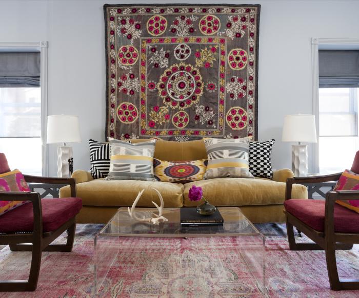 Ковер может стать настоящим произведение искусства и отличным решением для любой комнаты.
