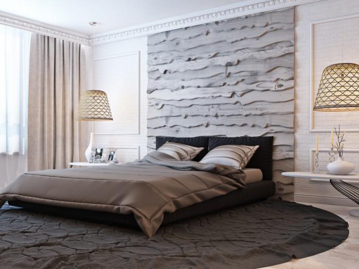 Комфортное и рациональное обустройство современной спальной комнаты.