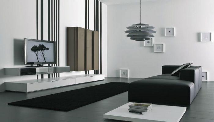 Минималистский интерьер гостиной комнаты для настоящих ценителей комфорта и простоты.