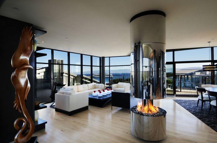 Современная идея оформления апартаментов в классическом стиле.