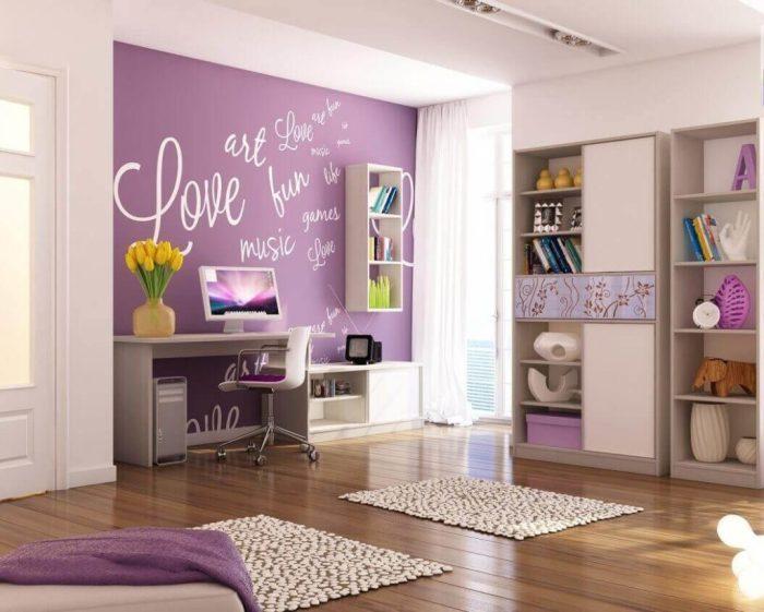 По-настоящему модные и молодёжные обои для стен, которые отлично впишутся в интерьер детской комнаты.