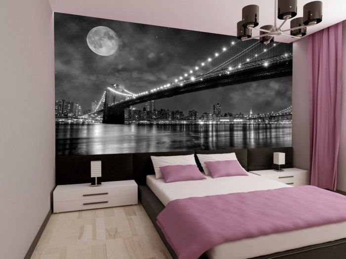 Спальная комната может быть комфортной, благодаря простому и лаконичному интерьеру.