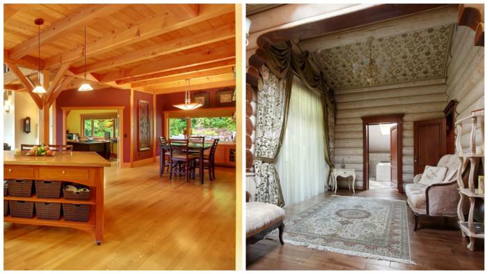 Примеры использования классической  мебели в интерьере.