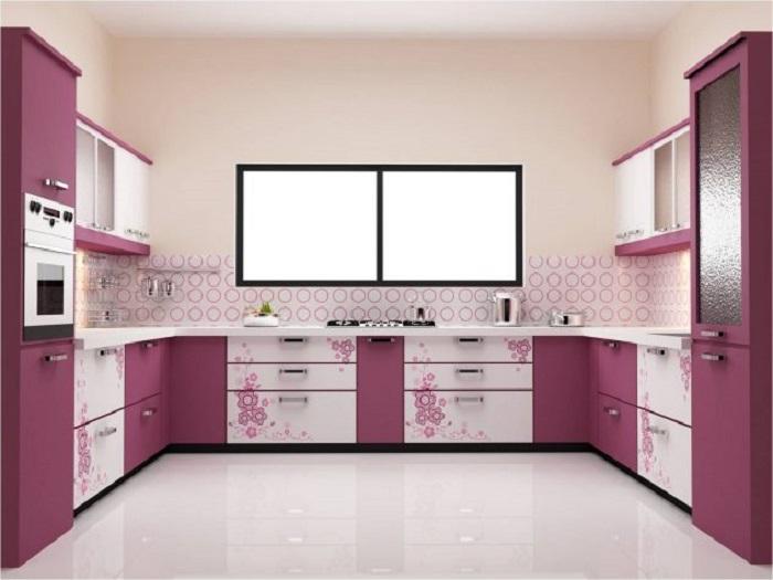 Нестандартный дизайн кухни
