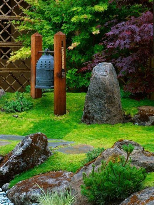 Сад для любителей восточной культуры, в котором можно настроиться на духовную практику и медитацию.