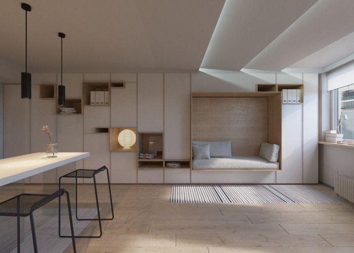 Мебель-трансформер для малогабаритной квартиры.