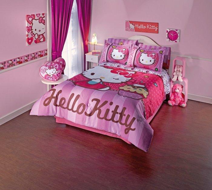 Мультяшный интерьер детской комнаты, которой может позавидовать даже взрослый.