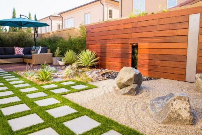 Профессиональное и необычное оформление садового участка.