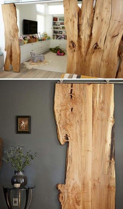 Если разобраться в принципах монтажа подобной конструкции, то можно самостоятельно собрать и установить раздвижные деревянные двери.