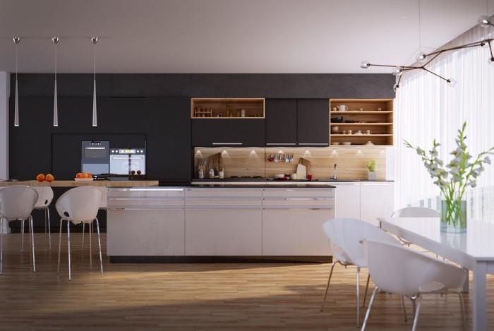 Тщательно продуманная геометрия подразумевает использование предметов мебели, которые идеально вписываются в интерьер помещения.