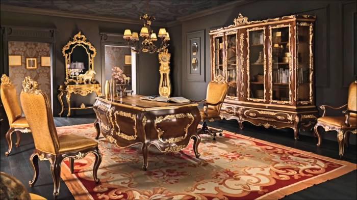 Королевская деревянная мебель для настоящих аристократов.