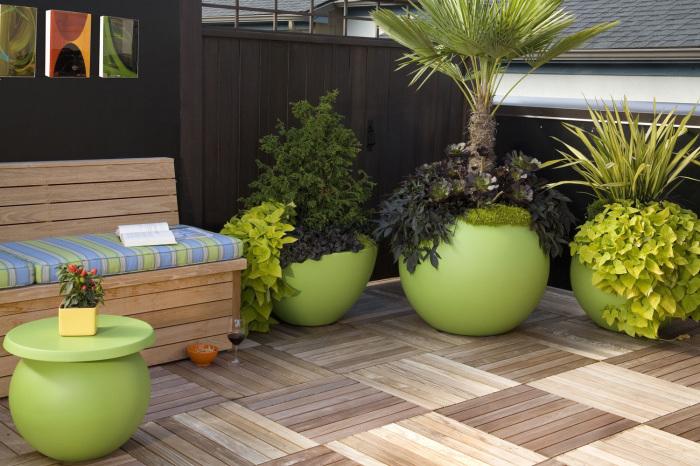 Оригинальные примеры украшений садово-дачного участка.