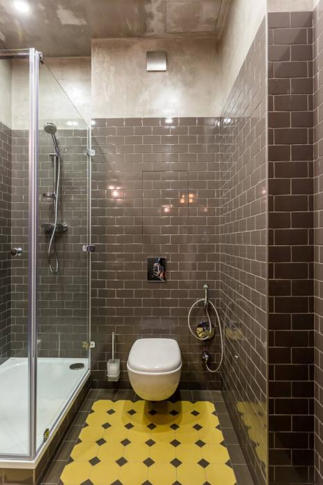 Дизайн современной ванной комнаты небольших размеров должен быть рассчитан до мелочей.