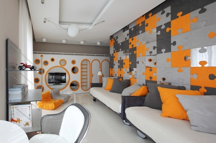 Дизайн интерьера апартаментов в Москве от Geometrix Design.