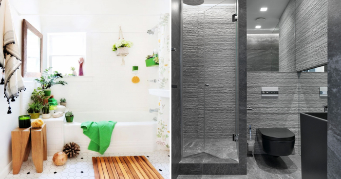 Нескучные идеи по правильному оформлению небольшой ванной комнаты.