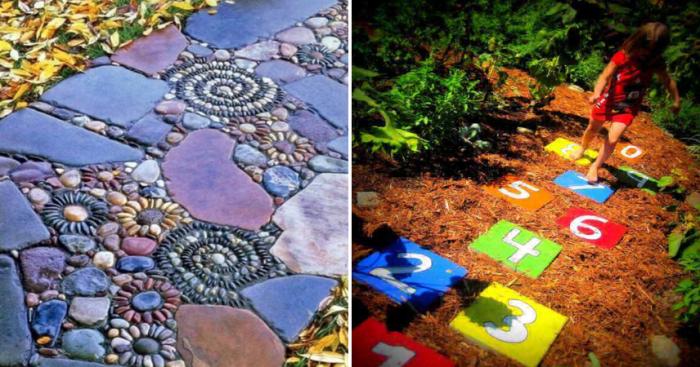 Садовые дорожки, которые помогут создать эксклюзивный ландшафтный дизайн.