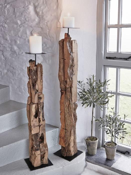 В умелых руках любая коряга может превратиться в настоящее произведение искусства, которое привнесёт в ваш дом тепло и уют.