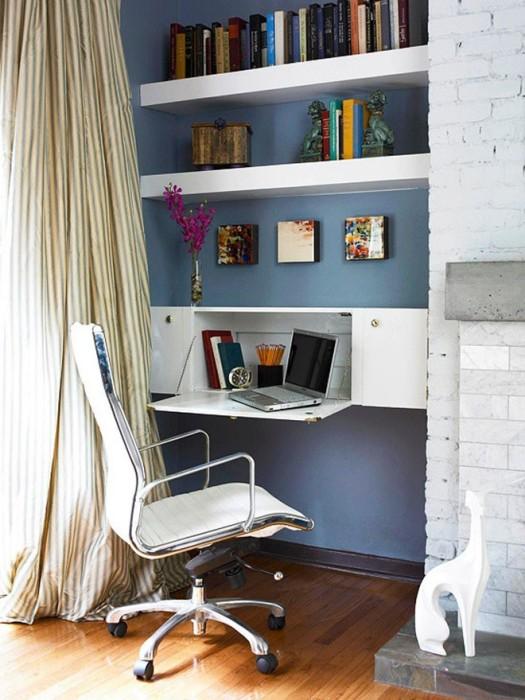Смелый дизайн офисного интерьера.